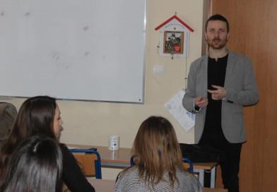 Pasje Macieja Jarczyńskiego – wizyta absolwenta