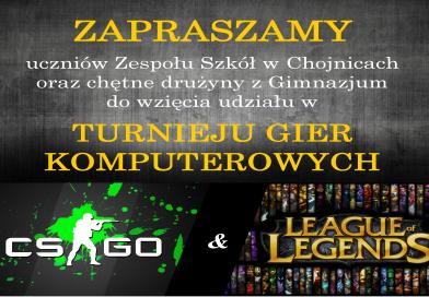 Turniej Gier Komputerowych