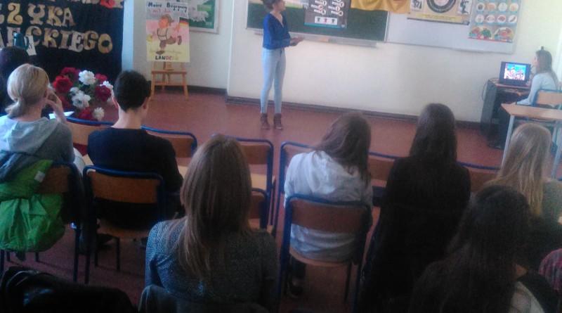 """Powiatowy Konkurs Realioznawczy Języka Niemieckiego """"Moje spotkanie z kulturą krajów niemieckojęzycznych"""""""