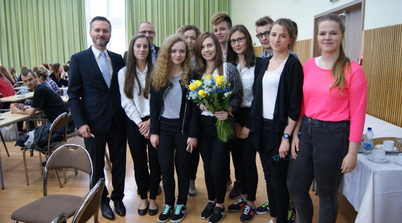 Olimpijskie sukcesy uczniów klas geo-wos.