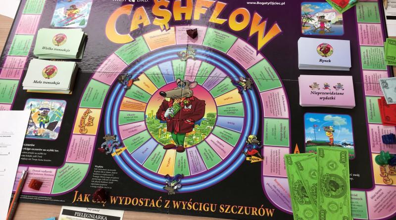 """""""CashFlow"""" w Technikum im. Stefana Bieszka"""